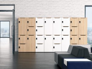 Choice Lockers with Mail Slot